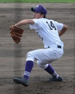小倉西の2番手・北野投手