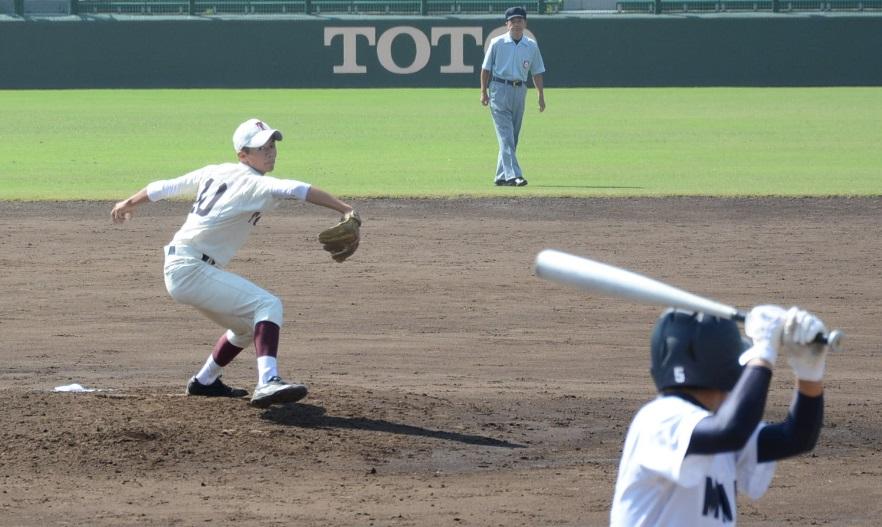 東筑・梅田投手
