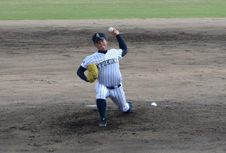 九国・富山投手